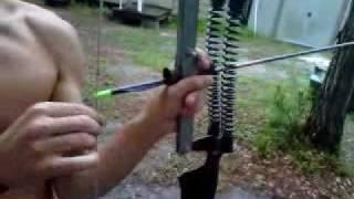 getlinkyoutube.com-Crazy homemade bow!
