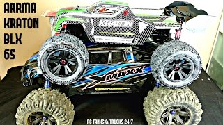 getlinkyoutube.com-ARRMA KRATON BLX 6S 60+mph BRUSHLESS 4WD 1/8 Monster Truck