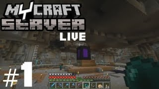 getlinkyoutube.com-Minecraft: MyCraft Live #1 [ARABIC] | ماينكرافت: ماي كرافت البث #1