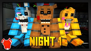 getlinkyoutube.com-MINE Nights At Freddy's 2 - FACTORY | Night 1 | FNAF Minecraft Roleplay
