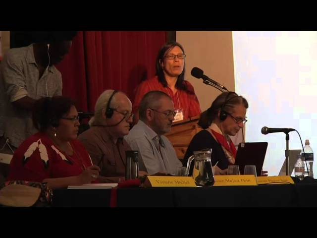 The People's Tribunal on the Canadian Mining Industry Day 2