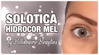 getlinkyoutube.com-Hidrocor Mel- Solotica Coloured Contact Lenses | Billionaire Beauties