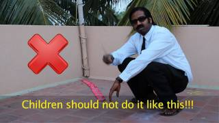 getlinkyoutube.com-Wilbur Sargunaraj: How not to light firecrackers during Deepavali