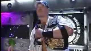 getlinkyoutube.com-John Cena insults HBK Big Show Edge Carlito Lita & Kur Angle