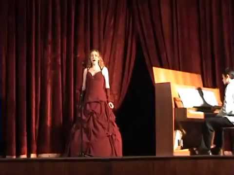 Sanja Petrović  19 years old ''Adio Del Pasato Travijata'' Đ. Verdi