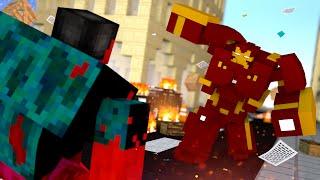 getlinkyoutube.com-Minecraft : HULKBUSTER Vs HULK VERMELHO   - (Vida de Herói #9)