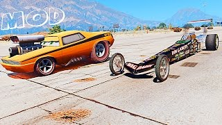 getlinkyoutube.com-Grand Theft Auto V Mods Drag Race w Snot Rod (GTAV Mods Awesome Drag Race Meeting)