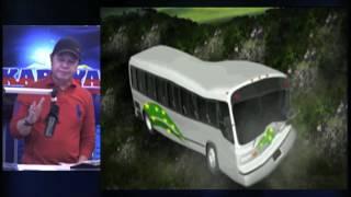 DZMM TeleRadyo: Carranglan mayor's relative killed in N. Ecija bus crash