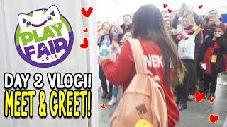getlinkyoutube.com-Play Fair NY 2016 Day2 Vlog - Make It Pop, Meet & Greet and Vendors at Play Fair