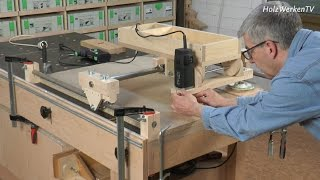 getlinkyoutube.com-Die HolzWerken-Kopierfräse - das sind ihre Talente