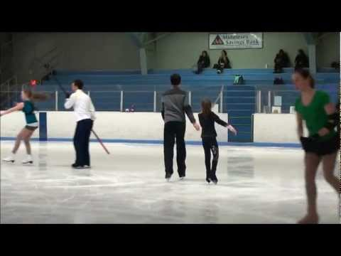 Sydney C skates pairs with Fred Palascak Feb 2012