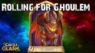 getlinkyoutube.com-Castle Clash Rolling Ghoulem! (BluePanda Account)