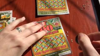 getlinkyoutube.com-$2 Hot Winnings vs. $2 Hit $100 Scratch Offs - 11/6/16
