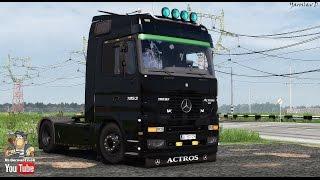 getlinkyoutube.com-[ETS2 v1.23] Mercedes Actros MP1 v2.0 + Cabin DLC