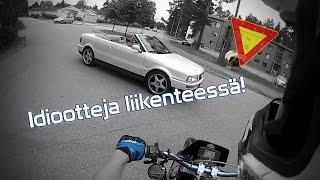 getlinkyoutube.com-Liikennesäännöt hukassa | Rieju MRX 50
