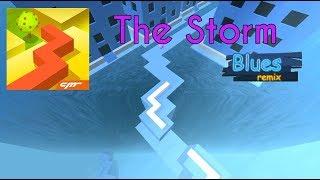 Dancing Line   The Storm (Blues Remix) (4K Stunning Graphics) Widescreen + Shadows