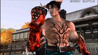 getlinkyoutube.com-Tekken Dark Resurrection: Devil Jin Story Battle