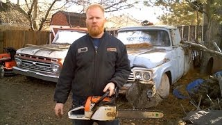 getlinkyoutube.com-Replace Stihl Chainsaw Crankcase Seals and Vacuum Test