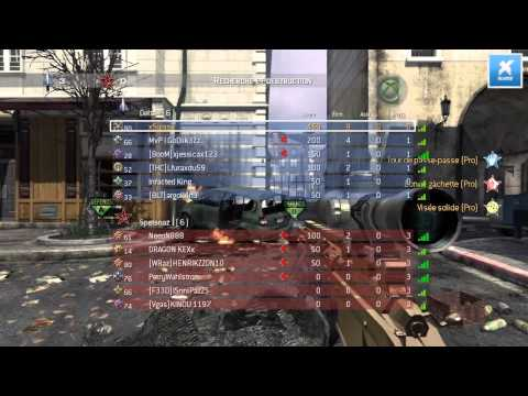 MW3 Commentary - Gameplay au Sniper (MSR) en R&D