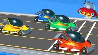 getlinkyoutube.com-TuTiTu гоночные машины