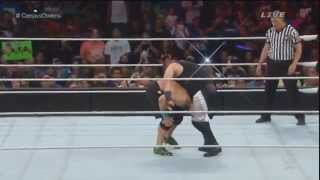 getlinkyoutube.com-Kevin Owens - Package Piledriver troll at Elimination Chamber 2015