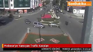 MOBESE'ye yansıyan trafik kazaları (Erzincan)