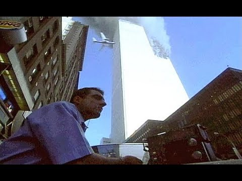 (Warning Graphic) People jump from World Trade Center RIP Never Forget