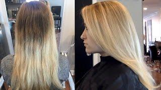 getlinkyoutube.com-Balayage 101 // Step by Step DIY Highlights // Pro Hair Color Painting Tutorial // Daniella Benita