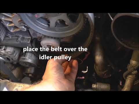How to fit the timing belt, cambelt - 1.9 cdti/JTDM, Opel, Lancia, Fiat, Saab, Alfa