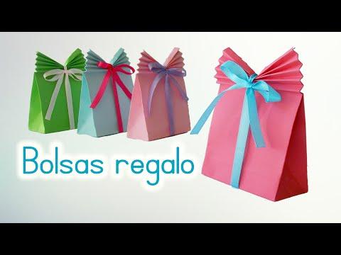 Videos youtube manualidades bolsas de papel para regalo - Youtube manualidades de papel ...