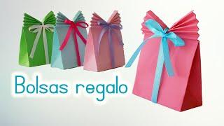 getlinkyoutube.com-Manualidades: BOLSAS de PAPEL para REGALO - Innova Manualidades