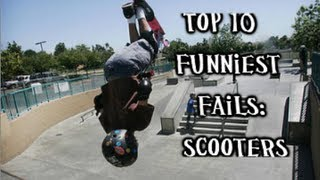 getlinkyoutube.com-Top 10 Fails: Scooters