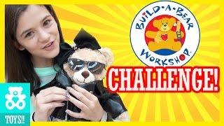 getlinkyoutube.com-OUR FIRST BUILD A BEAR!  CHALLENGE!  |  KITTIESMAMA