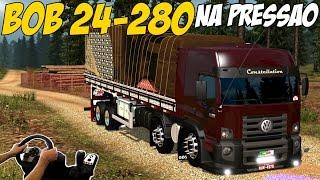 getlinkyoutube.com-QUASE BATO EM UM ONIBUS - 24-280 BI-TRUCK NA PRESSÃO - G27!!!
