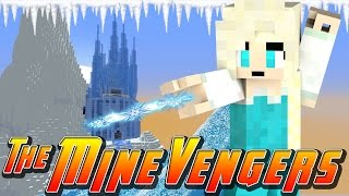 Minecraft Minevengers - ELSA  GETS KIDNAPPED!!