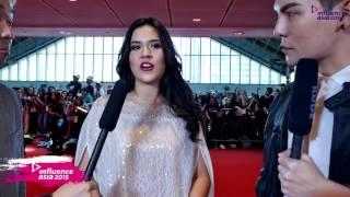 Raisa Adriana [Indonesia] - Red Carpet (Influence Asia 2015)