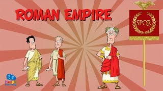 ROMAN EMPIRE | Educational Video for Kids.