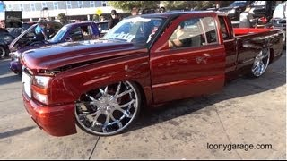 getlinkyoutube.com-Bagged Chevy Silverado