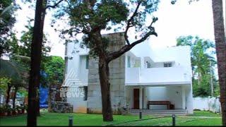 getlinkyoutube.com-Contemporary style Home at Elamakkara | പ്രകൃതിയോട് ഇണങ്ങും വീട് | Dream Home 06 Dec 2015