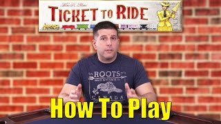 game rules - how to play ticket to ride (hd)