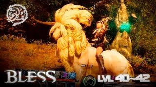 Bless - Assassin lvl 40~42 Gameplay - Sylvan Elf - Final Test - F2P - KR