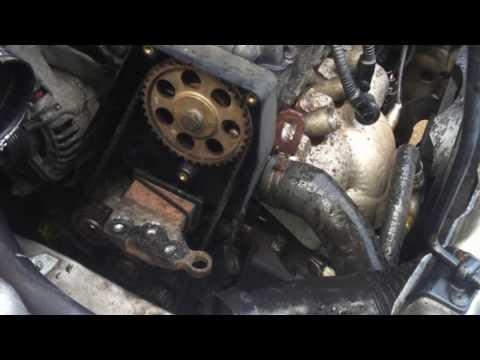 Timing belt tear Opel Astra ремень ГРМ Opel Astra