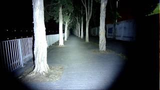 getlinkyoutube.com-12V 3000LM 30W 4x CREE XML T6 Waterproof Led Spot Light with Dimmer