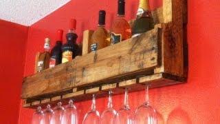 getlinkyoutube.com-Wine Bottle/Glass Rack