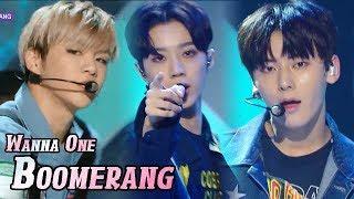 [HOT] WANNA ONE   BOOMERANG, 워너원   부메랑 Show Music Core 20180407