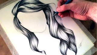 getlinkyoutube.com-How to Draw Wavy Hair