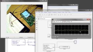 stm32f429 discovery  - PWM example with simulink