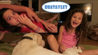 getlinkyoutube.com-Hayley LOVES Thunderstorms! (Annie Does Not) (WK 242.6) | Bratayley
