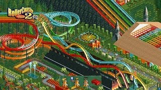 getlinkyoutube.com-RollerCoaster Tycoon 2 HD - Intro Remade
