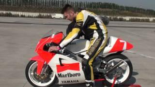 getlinkyoutube.com-Yamaha TZ 250 Warm Up Adria